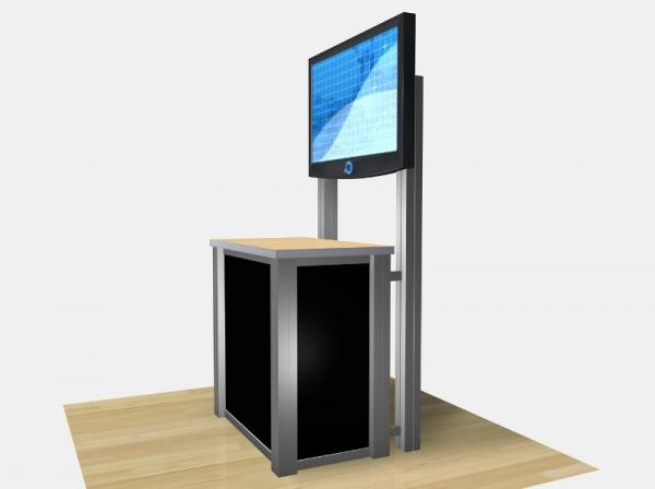 RE-1232 / Rectangular Counter Kiosk - Image 5